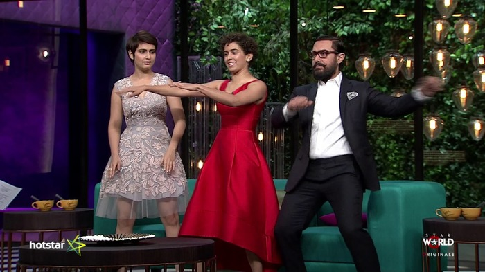 Koffee With Karan Season 5 With Aamir, Sanya And Fatima Was A Complete Laugh-Riot And Full Of Wits!