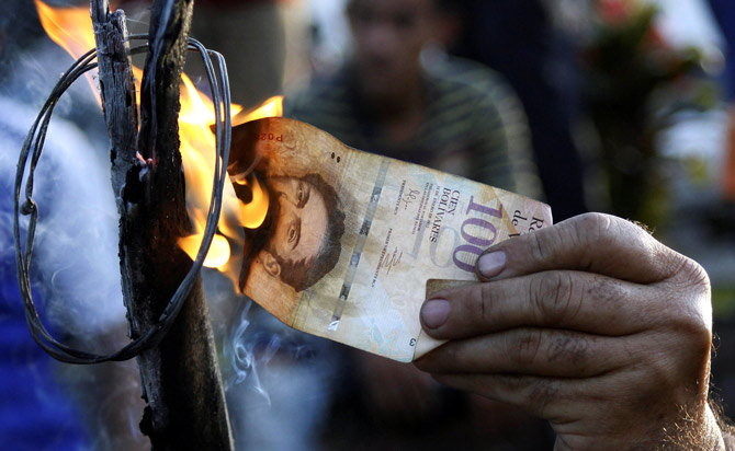 After India, Venezuela Goes On Demonetisation Drive, Scraps 100-Unit Banknotes