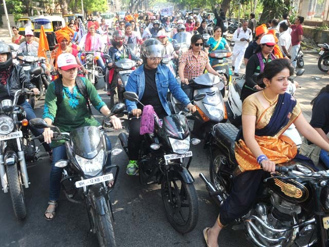 Women's Bike Rally To Raise Awareness On Breast Cancer