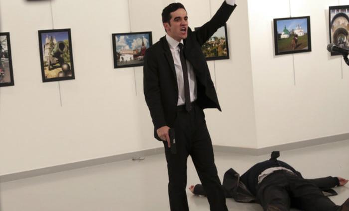 Turkish Gunman Assassinates Russian Ambassador At An Art Gallery
