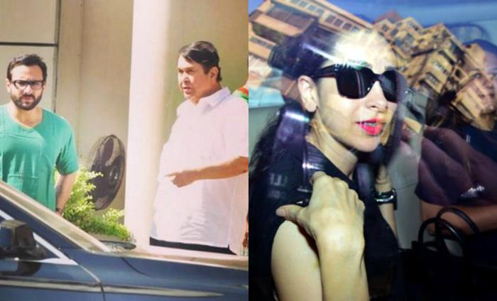 In Pics: Kapoors And Pataudis Visit Kareena And Taimur At Breach Candy Hospital