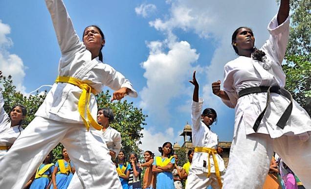 Jharkhand University Makes Martial Arts Compulsory For Girls