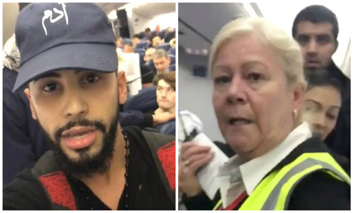 Youtube Vlogger, Adam Saleh Kicked Out Of Delta Airlines For Speaking In Arabic