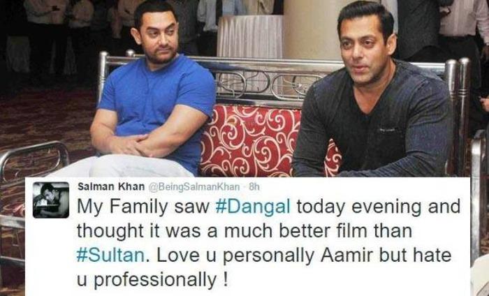 Salman Khan Says He Hates Aamir Khan And The Reason Will Shock You