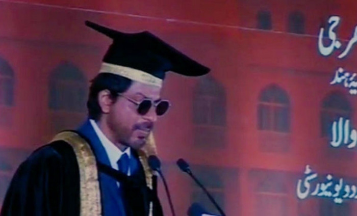 Bollywood Icon Shah Rukh Khan Awarded A Doctorate In Hyderabad
