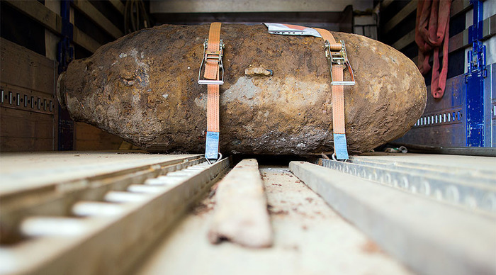 WW2 Bomb Forced Evacuation Of 54,000 Germans On Christmas