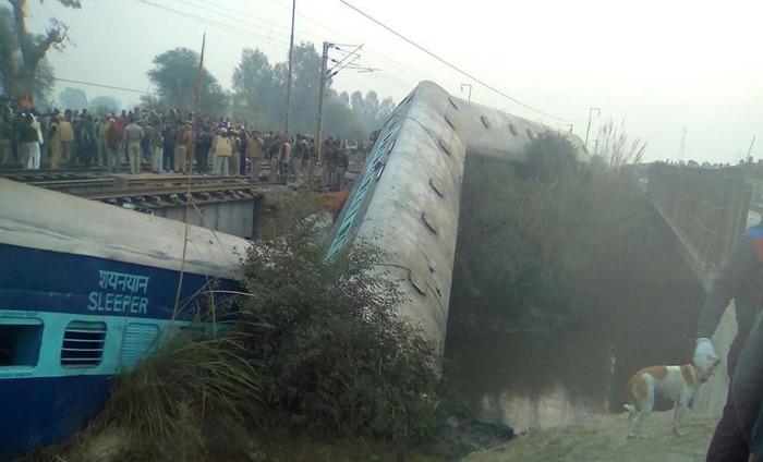 Breaking News: Sealdah-Ajmer Express Derails Near Kanpur, 2 Killed