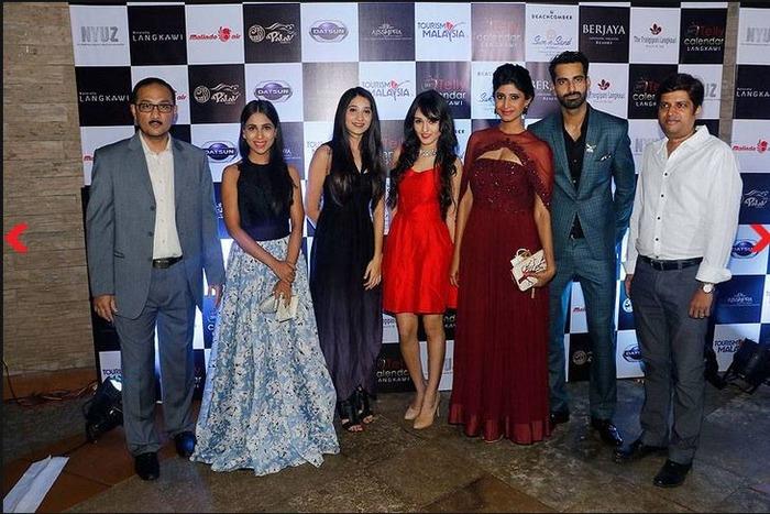 TV Stars Dazzle At The Tele Calendar Launch 2017
