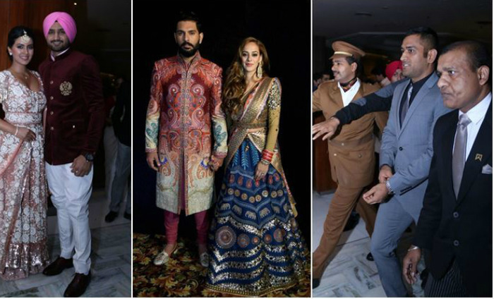 10 Pictures From Yuvraj-Hazel's Wedding Reception In Delhi
