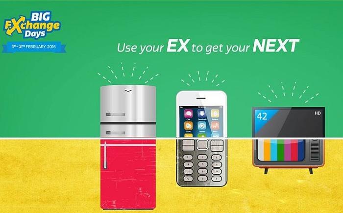 Good News: Flipkart Announces Big Exchange Days