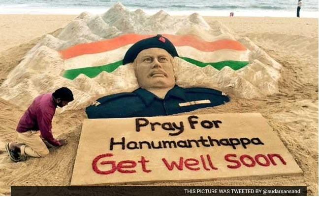 Send In Your Prayers For Siachen Braveheart Lance Naik Hanumanthappa Koppad
