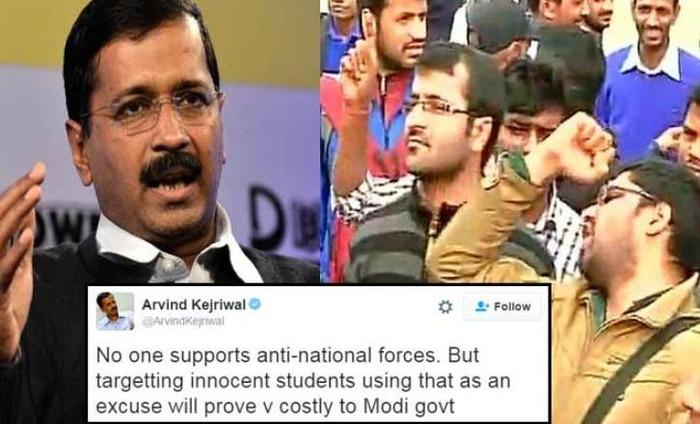Arvind Kejriwal Writes Open Letter To Narendra Modi On #JNU Standoff