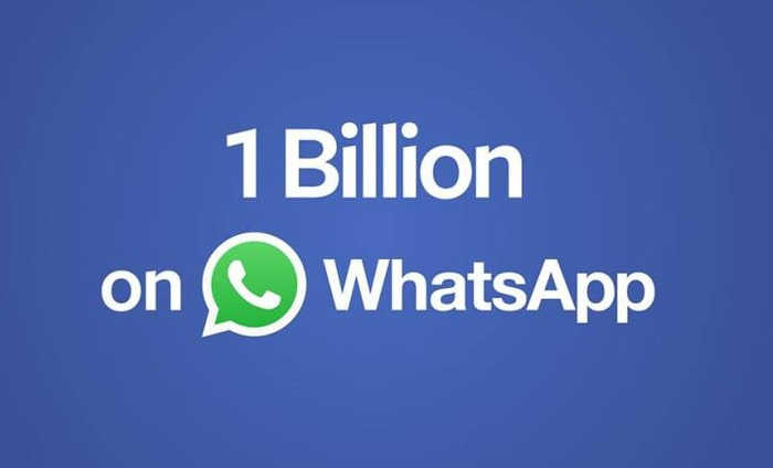 Whatsapp Hits 1 Billion User Mark; 42 Million Messages Exchanged Daily