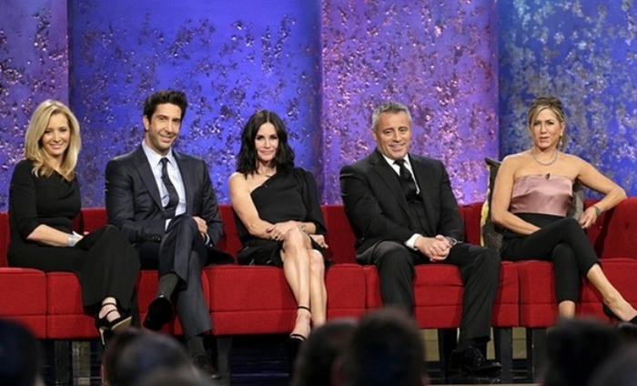 Here's All The Footage From The Friends Reunion