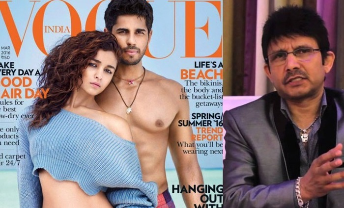 KRK Gets Into An Ugly Fight On Twitter With Sidharth Malhotra