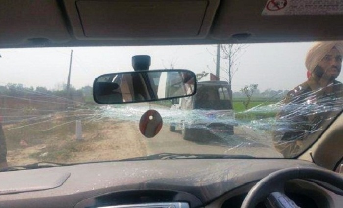 Arvind Kejriwal's Claims That His Car Was Attacked By The Badals In Ludhiana