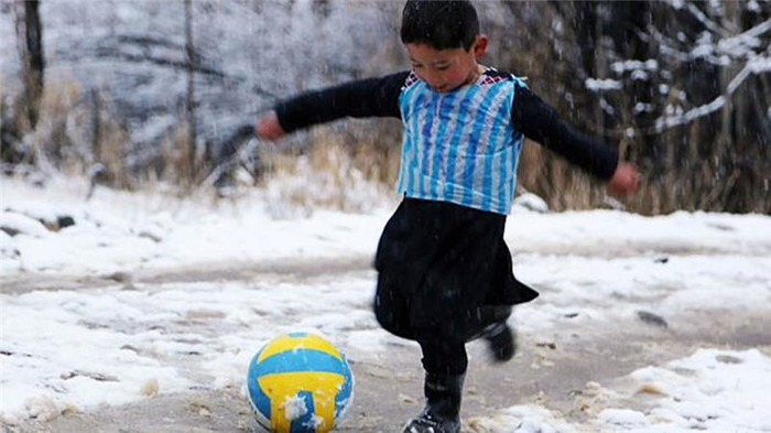 Meet Lionel Messi's Cutest Fan From Afghanistan