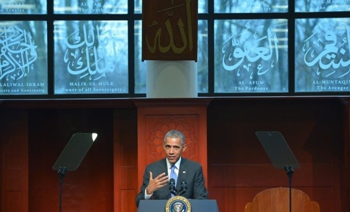 Obama Visits Mosque, Says Islam Is A Part Of America