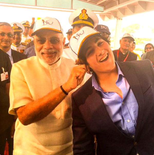 When PM Narendra Modi Pulled Akshay Kumar's Son Aarav's Ears!