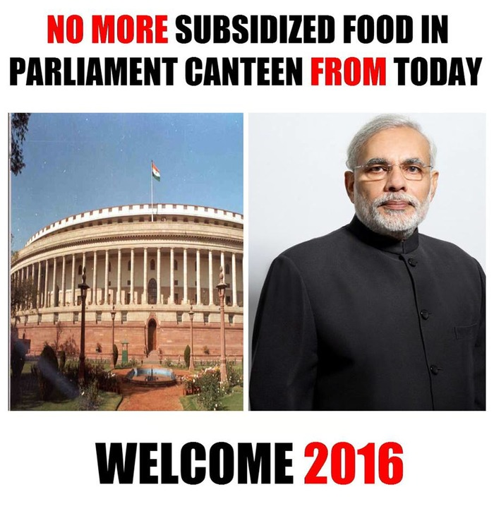 No More Canteen Subsidies - News Will Not Be Highlighted
