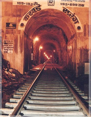 Longest Rail And Road Tunnels In India - Karbude Tunnel