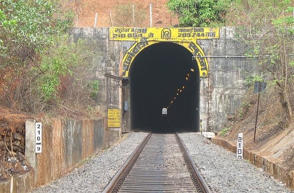 Longest Rail And Road Tunnels In India - Natuwadi Tunnel