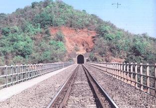 Longest Rail & Road Tunnels In India - Tike Tunnel