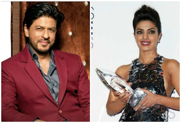 This Is What SRK Had To Say About Priyanka Chopra Winning The People's Choice Awards!