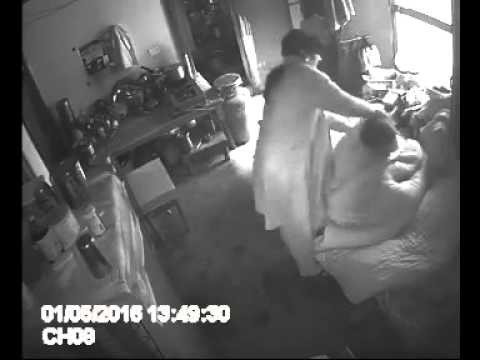 Disgusting: Shocking Video Of A Woman Assaulting Her 70 Year Old Mother-in-law