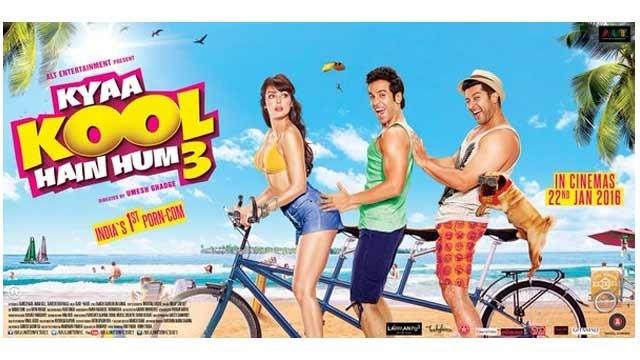 Censor Board Demands 150 Cuts In The Film, Kya Kool Hain Hum 3