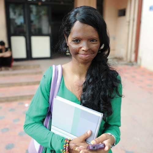 Acid Survivor Laxmi Becomes The Face Of A Fashion Label