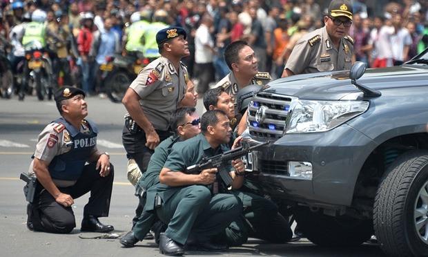Jakarta Terror Attacks: At Least 6 Dead In Suicide Bombings