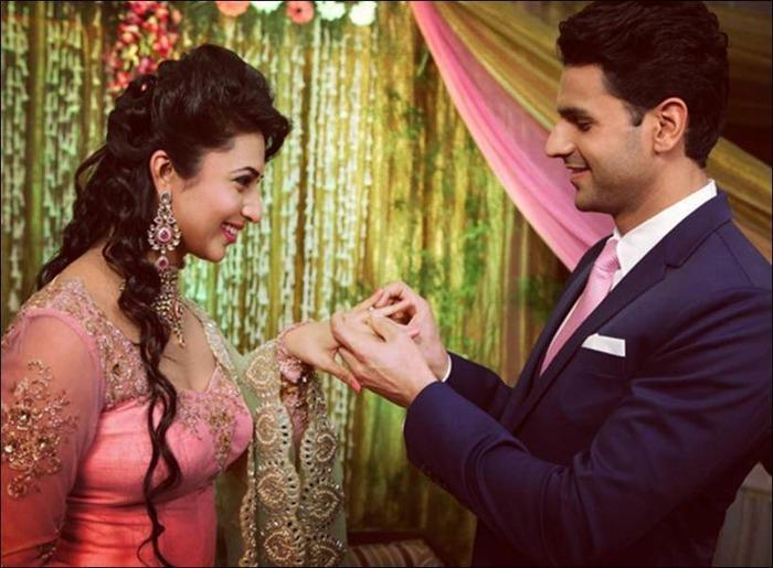 Good News! Divyanka Tripathi Gets Engaged To Co-star Vivek Dahiya