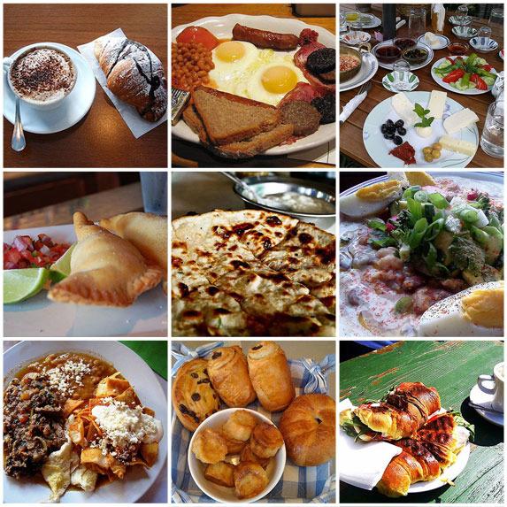 What Breakfast Looks Like Around The World!