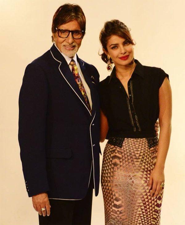 Meet India's New Brand Ambassadors, Big B And Priyanka Chopra