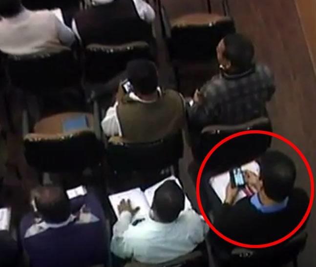 Municipal Zonal Officer Caught Watching Porn During Key Meeting