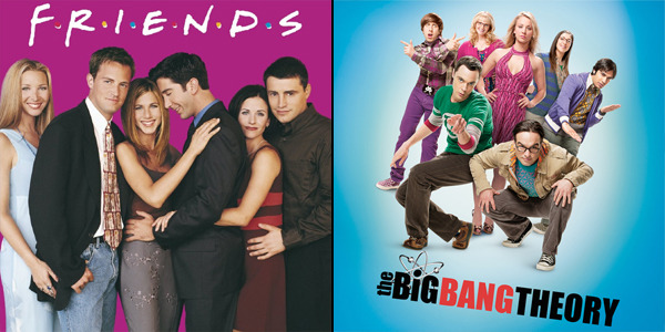 OMG: When 'Friends' Met 'The Big Bang Theory'!