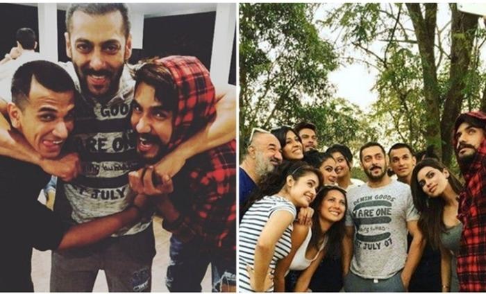 Salman Khan Parties With Bigg Boss 9 Contestants