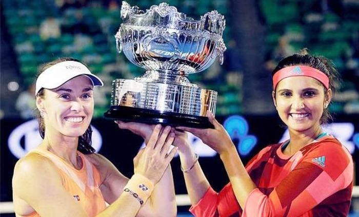 Sania Mirza And Martina Hingis Win The Australian Open Women's Title