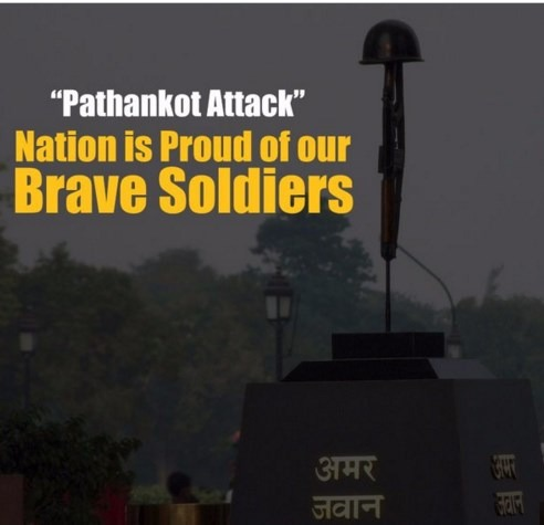 The Brave Martyrs Of Pathankot Attack