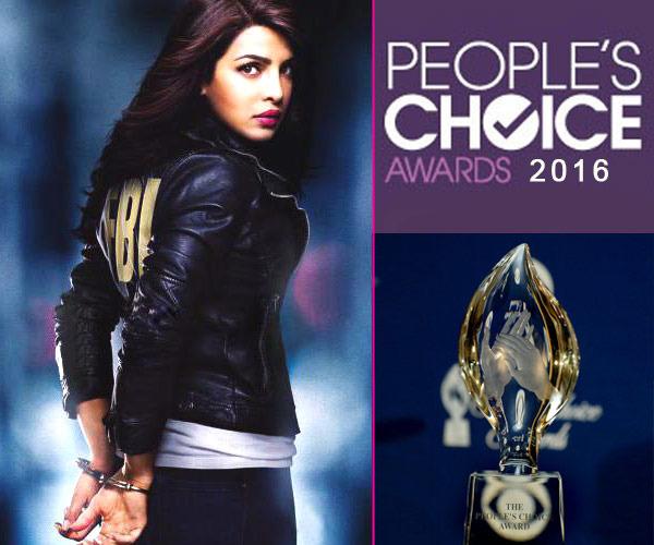 OMG: Priyanka Chopra Wins A People's Choice Award!