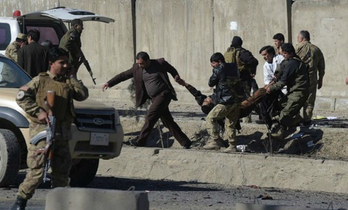 30 Killed As Taliban Suicide Bombers Hit Police Buses In Kabul
