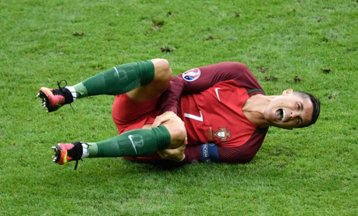 Knee Injury Will Sideline Ronaldo From European Supercup