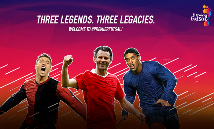 Giggs, Ronaldinho, Crespo To Play In Premier Futsal