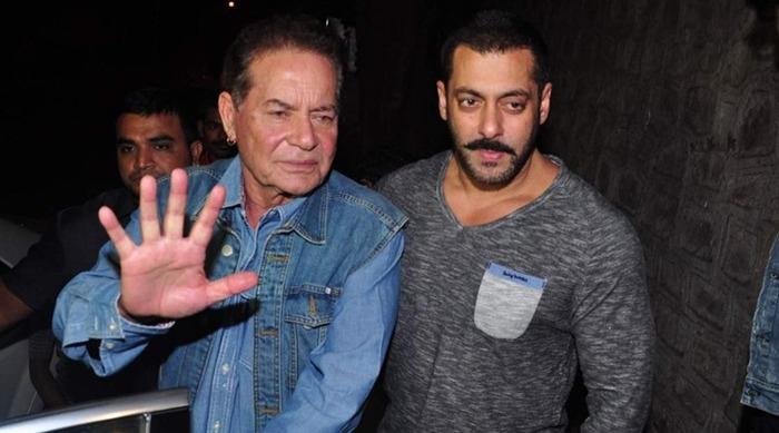 5 Times Salman Khan's Father Salim Khan Came To His Rescue