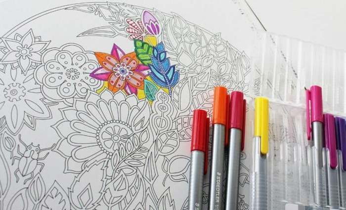 Colouring Books To Help Adults Deal With Stress