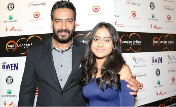 Ajay Devgn Walks LIFF Red Carpet With Daughter