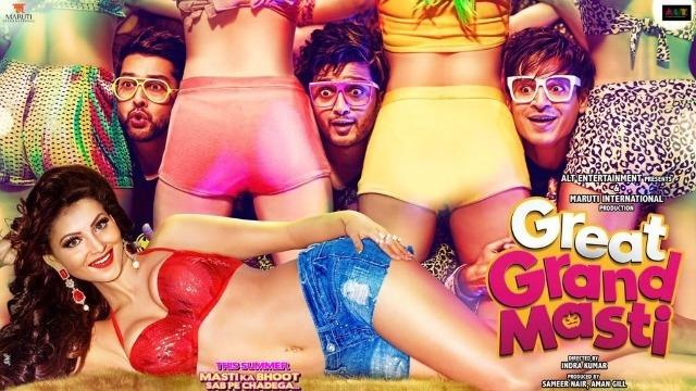 Great Grand Masti: Movie Review: No Sex, No Comedy, Just A Traumatizing Two Hour Drag