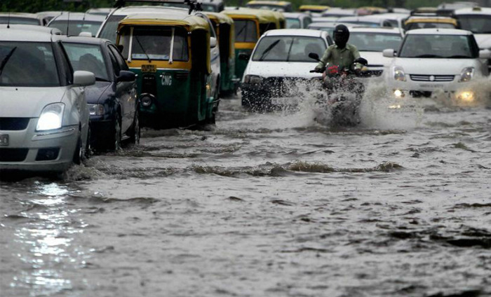 Heavy Rains In Delhi Results In Deployment Of Boats By The Government