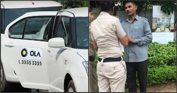 Shocking: Delhi Girl Caught An Ola Driver Recording Her In Broad Daylight